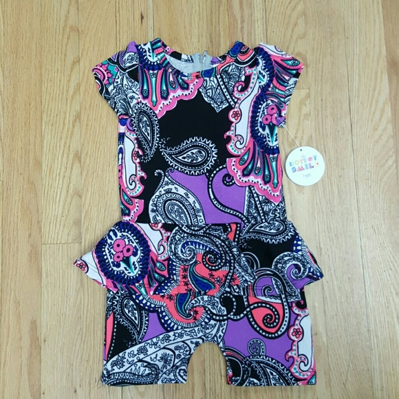 984f7222a401 LuLaRoe - Lularoe Dot Dot Smile Romper 2t 2 years old from Sophies s ...