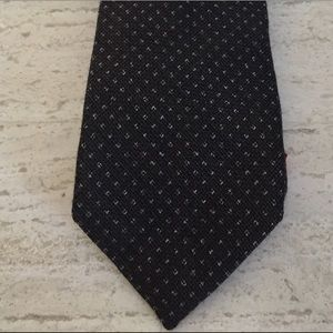 Isaia Other - NWT $235 Isaia Tie dark w/green tint. Wool/silk