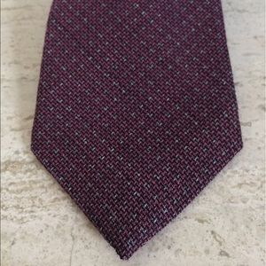 Isaia Other - NWT $235 Isaia Tie. Faded Pink w/ dot. Wool/silk