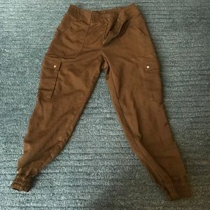 Pants - Olive green joggers