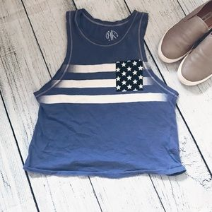 Nordstrom Tops - 4th of July Recycled Karma USA tank (Nordstrom)