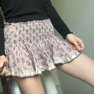 XS Free People Mini Skirt