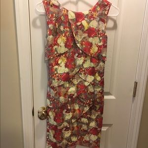 anna grace Dresses & Skirts - Red floral dress