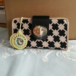 Spartina Ellis Square turn-key wallet