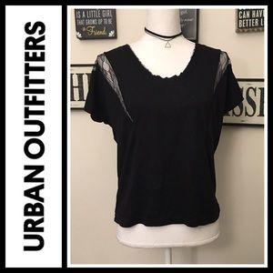 Urban Outfitters Tops - Urban Outfitters Pins & Needles cutout Lace top