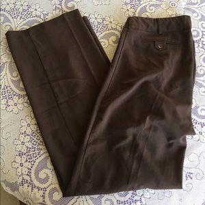 Three Seasons Maternity Pants - Three Seasons Maternity Brown Dress Pants