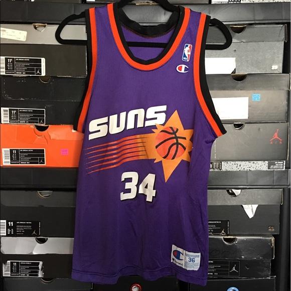 7d08af0b5591 Vintage Champion Phoenix Suns Barkley Jersey
