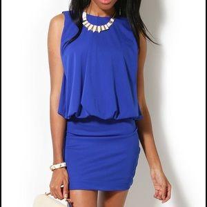 AKIRA Dresses & Skirts - Never worn! Tag still on Akira blue dress