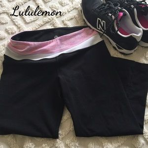 Lululemon Reversible Crop Pants. Price firm.