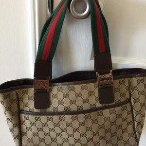 Gucci Handbags - Authentic Gucci Canvas monogram bag!