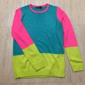 Vintage 80s neon sweater