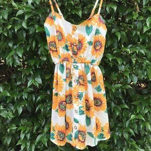 Choies Dresses & Skirts - Choies Sunflower Romper