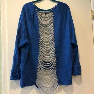 AKIRA Sweaters - Never worn blue Akira sweater!