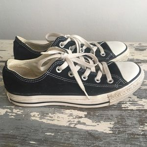 Black Converse All Stars