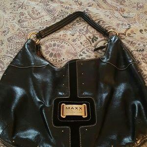 M.STUDIO Handbags - Leather hobo handbag