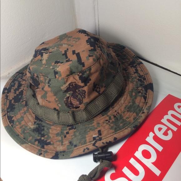 Authentic USMC boonie hat. M 58f3d75e3c6f9fb495019ddf 0c4fad2deea