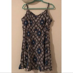 old navy plus size printed dress