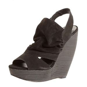 Joe's Jeans Shoes - Joes Black Wedges