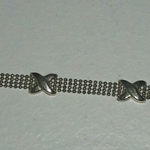 Jewelry - 14kt gold x's bracelet