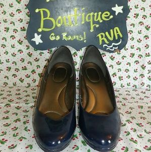 Kelly & Katie Shoes - 💚 Kelly & Katie Coderno pumps Navy Patent size 11