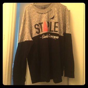 Staple Other - Staple Black/Grey Longsleeve