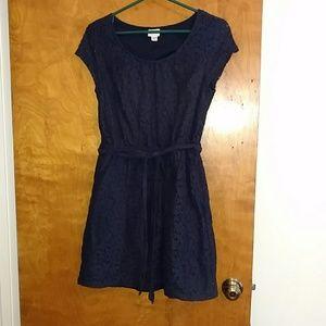 Navy lace Merona dress