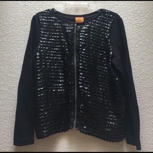 Ruby Rd. Jackets & Blazers - [Ruby Rd.] Black Zip Jacket - 10