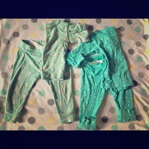 Carter's Other - Price drop! 9 month pajamas set (pack of 2)