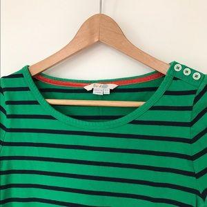 Boden Tops - Boden Striped Long Sleeve Shirt