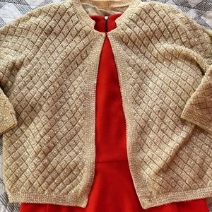 Sweaters - Fabulous vintage cropped and sequinned sweater
