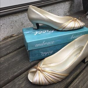 Easy street wide heels