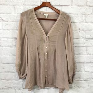 Joie Tops - Joie silk blouse size large