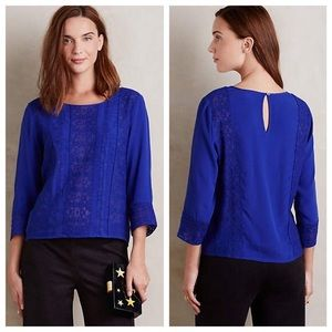 Anthropologie Tops - New Anthropologie Meadow Rue Salina Blouse
