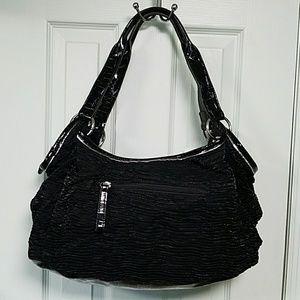 Siennna Ricchi Black Capri Shopper Purse NWT