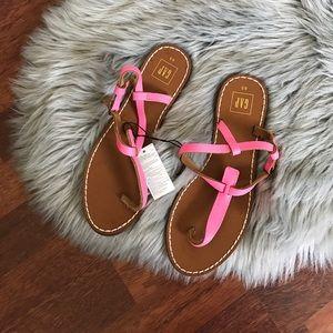 GAP Shoes - Gap Leather t-strap sandals