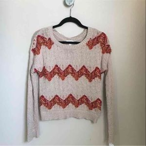 Maison Jules Patterned Sweater