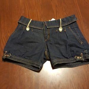 Armani Exchange Pants - Armani Exchange adorable leather denim short 0