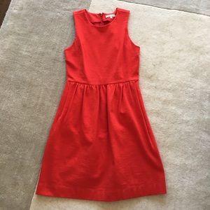Madewell lovely red dress