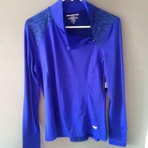 Marika Tops - NWT Marika Tek cobalt blue workout jacket dri wik