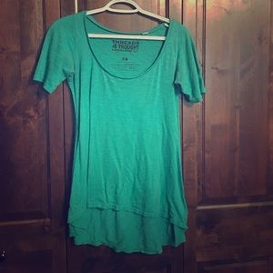 Threads 4 Thought Tops - Teal long t shirt