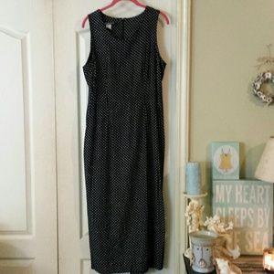 My Michelle Dresses & Skirts - My Michelle Black & White Polka Dot Dress Sz 13/14