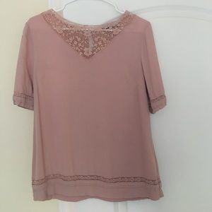 New Look Tops - Soft Pink Lace top