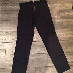 J Crew legging pants with back zipper