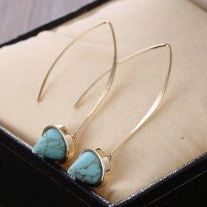 Turquoise Boho Chic Earrings