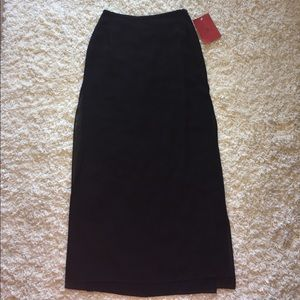 JS Collections Dresses & Skirts - Black Maxi Skirt