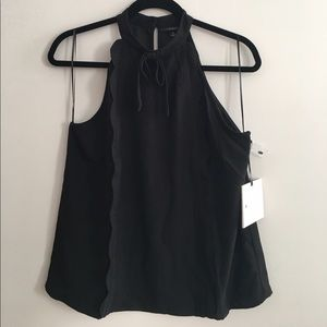 Victoria Beckham x Target High Neck Trim Tank Top
