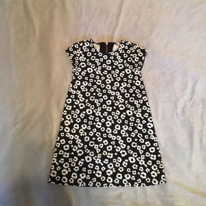 Gymboree Other - Girls black and white floral dress.