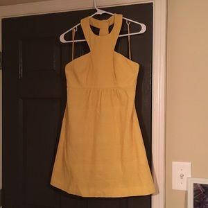 🔆-yellow Tibi dress