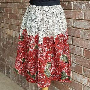 Anthropologie Dresses & Skirts - Anthropologie Edme & Esyllte Mid Creation Skirt