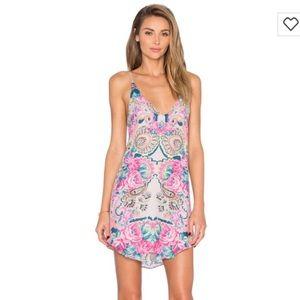 Rory Beca Dresses & Skirts - Rory Beca Bouches Enamel Silk Dress XS